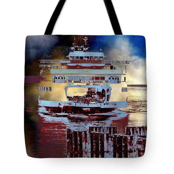 Now Arriving Tote Bag