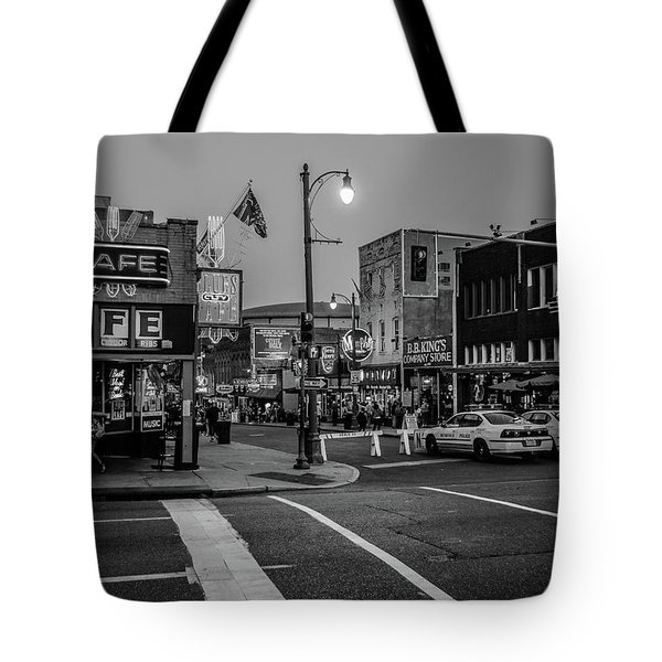 Now Entering Beale  Tote Bag