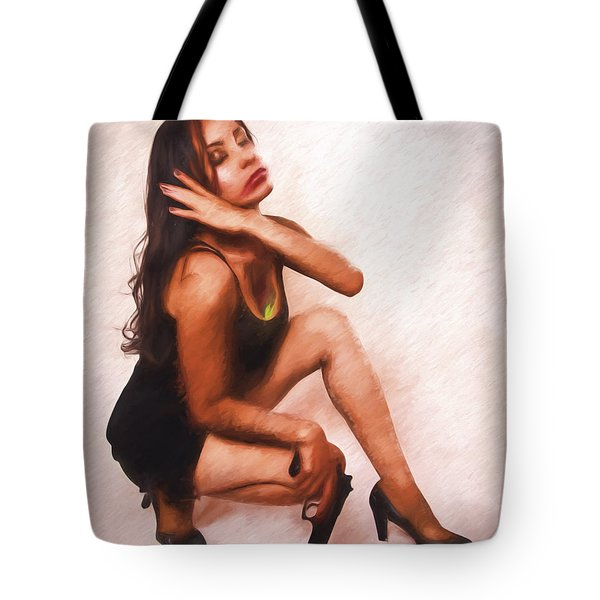 Tote Bag featuring the photograph Now It Is Over  ... by Chuck Caramella
