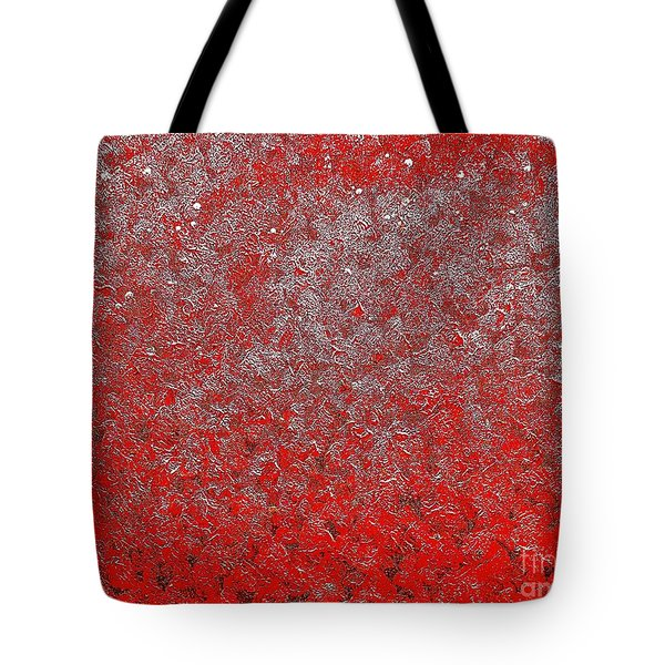 Now It's Red Tote Bag by Rachel Hannah