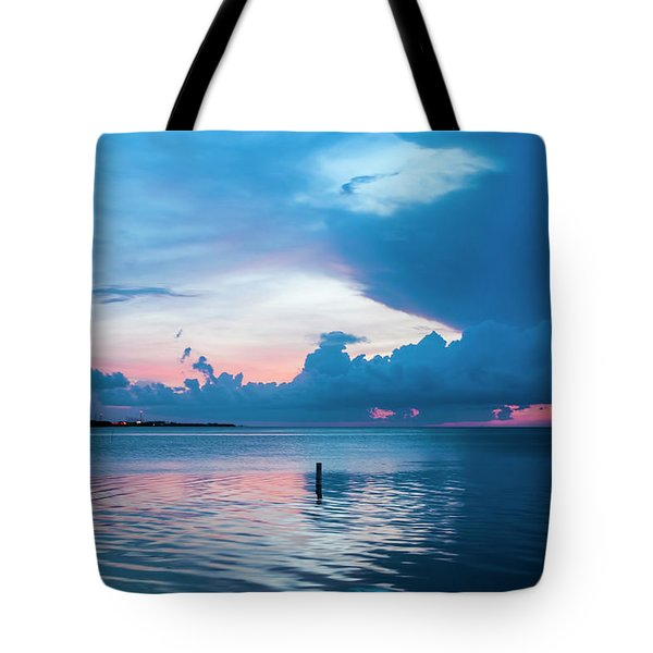 Now The Day Is Over Tote Bag