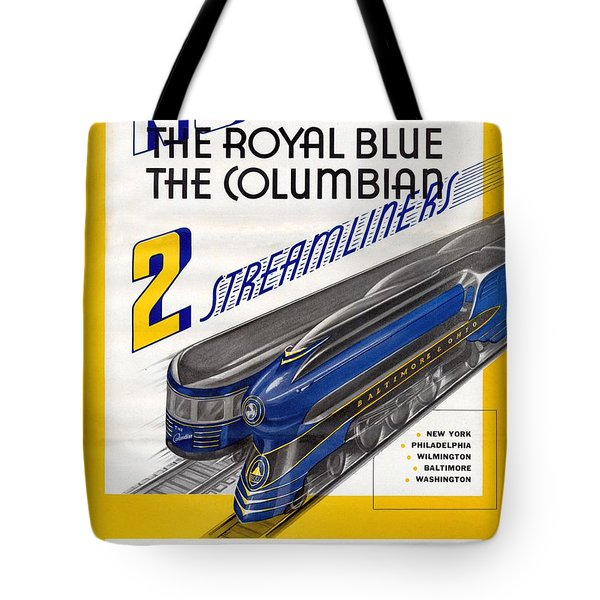 Now The Royal Blue The Columbian Tote Bag