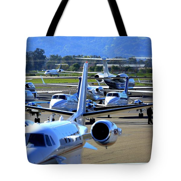 Tote Bag featuring the photograph Now Where Did I Park ... by John King
