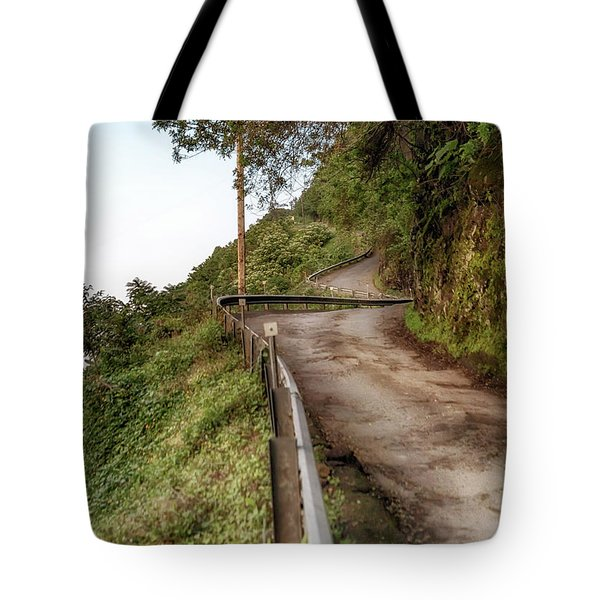 Nowhere But Up Tote Bag