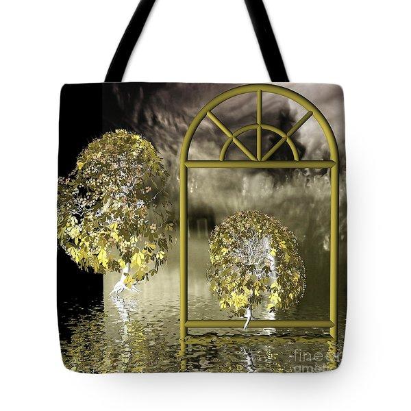 Nowhere-land Tote Bag