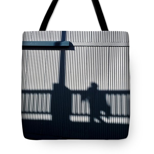 Tote Bag featuring the photograph Nowhere Man by Tom Vaughan