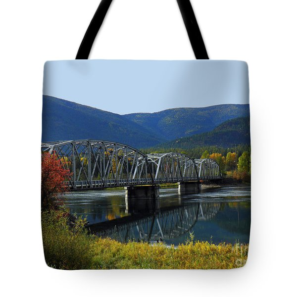 Noxon Bridge Tote Bag by Tonya P Smith