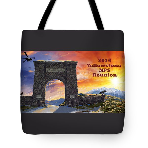 Nps Reunion Tote Bag