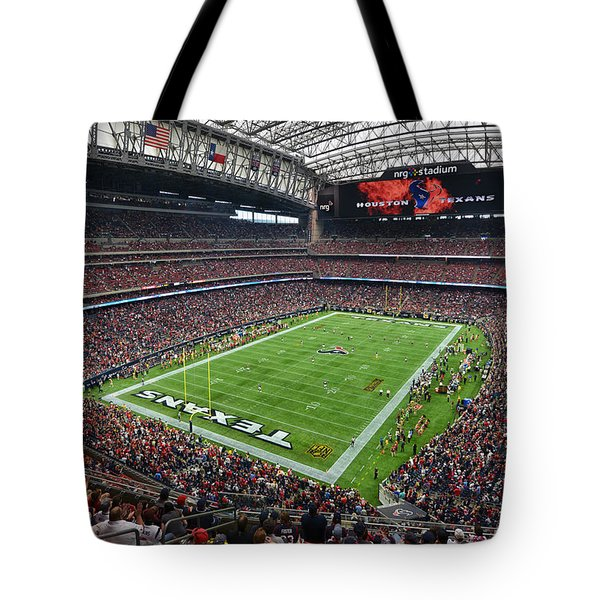 Nrg Stadium - Houston Texans  Tote Bag