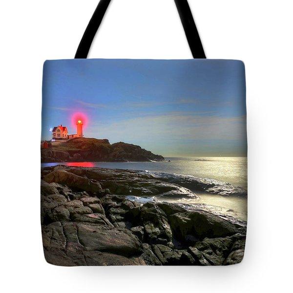 Nubble Light 457 Tote Bag
