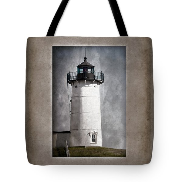 Nubble Light Maine Tote Bag