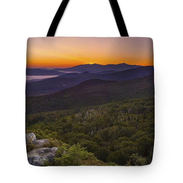 Nubble Sunrise Tote Bag