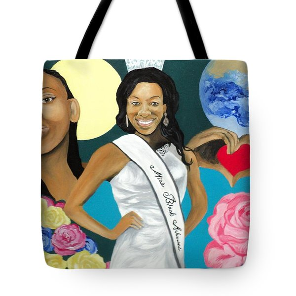 Nubian Princess Tote Bag
