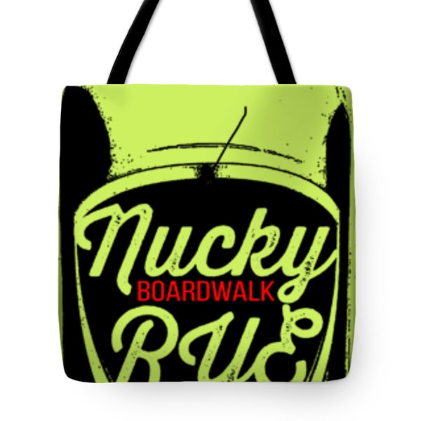 Nucky Thompson Boardwalk Rye Whiskey Tee Tote Bag