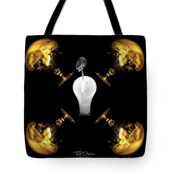 Tote Bag featuring the photograph Nuclear Considerations by T A Davies