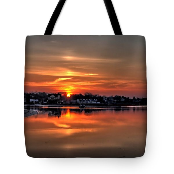 Nuclear Morning Tote Bag