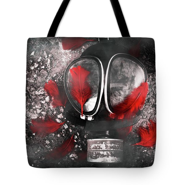 Nuclear Smog Tote Bag