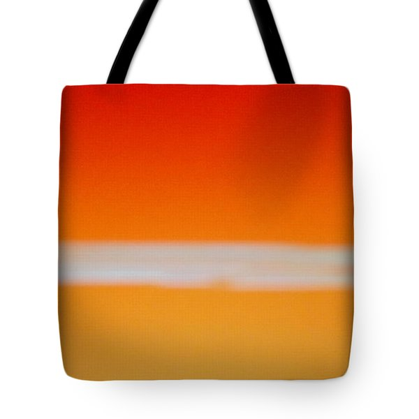 Nuclear Sunrise Tote Bag