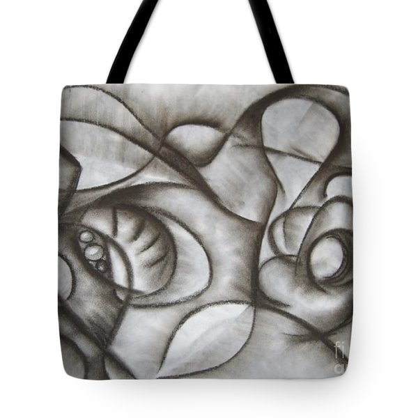Nucleus Of Time Tote Bag