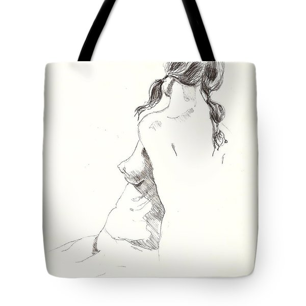 Nude 9 Tote Bag