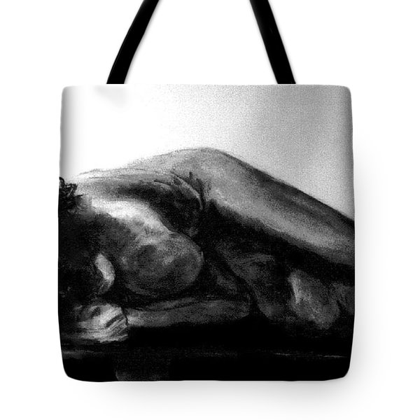 Nude As Landscape Tote Bag