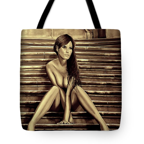 Nude City Beauty Sepia Tote Bag