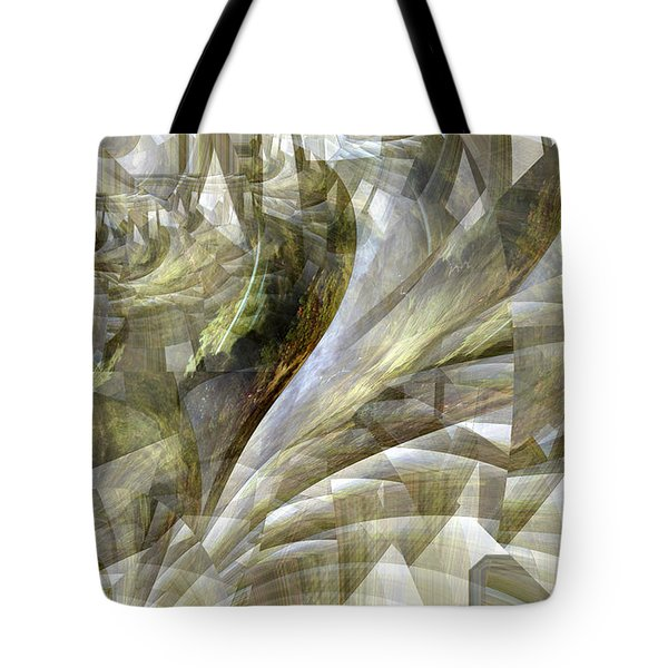 Tote Bag featuring the photograph Drunk Nude Falling Down A Staircase by Robert G Kernodle