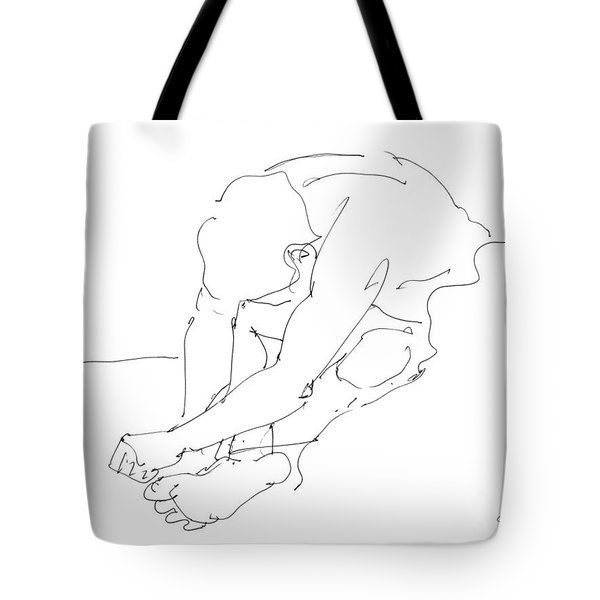 Nude Male Drawings 8 Tote Bag