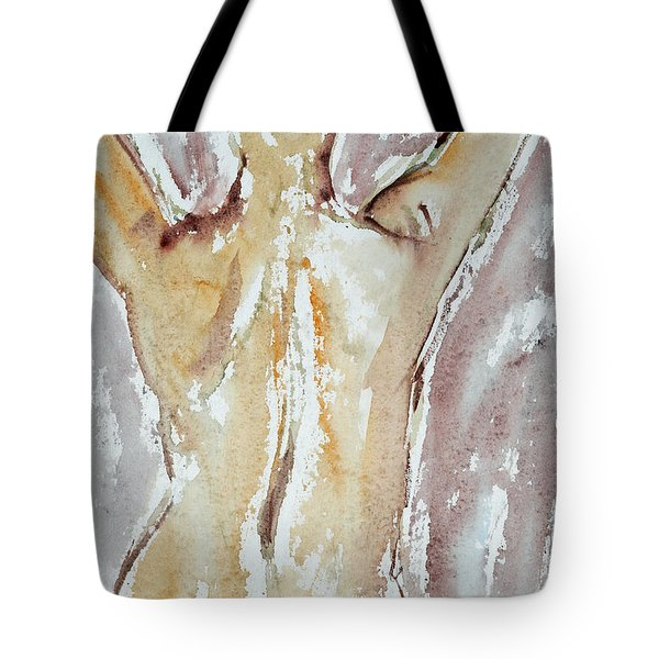 Nude Tote Bag by Michal Boubin