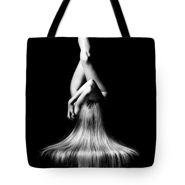 Nude Woman Bodyscape Tote Bag