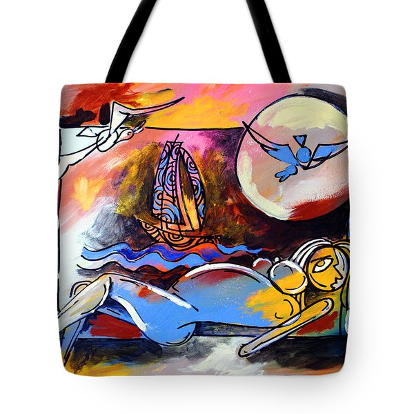 Nude Woman On Beach 2 Tote Bag
