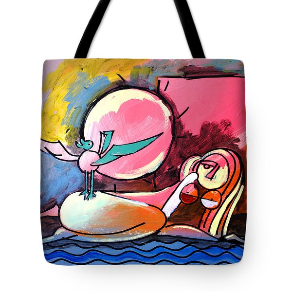 Nude Woman On Beach 4 Tote Bag