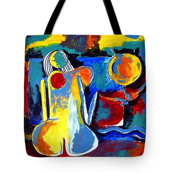 Nude Woman On Beach 6 Tote Bag
