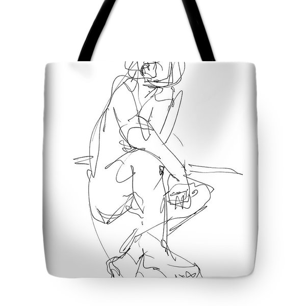 Nude_male_drawing_29 Tote Bag