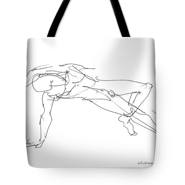 Nude_male_drawings_23 Tote Bag