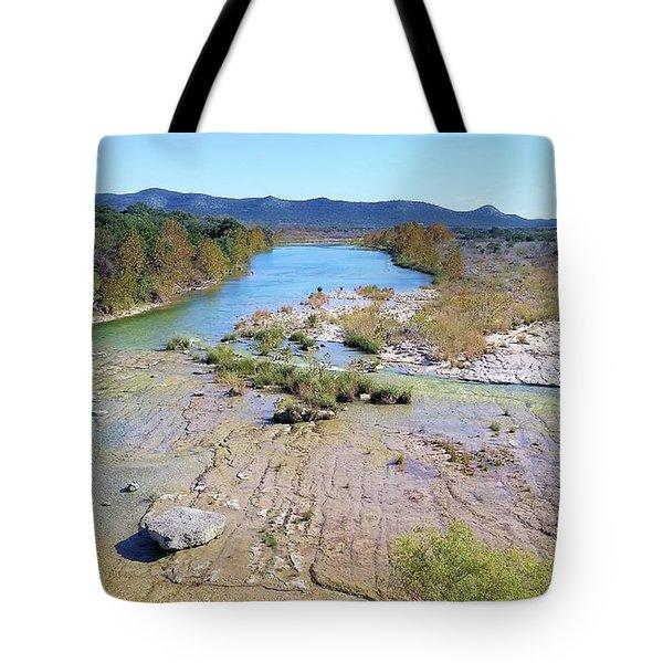 Nueces River Tote Bag