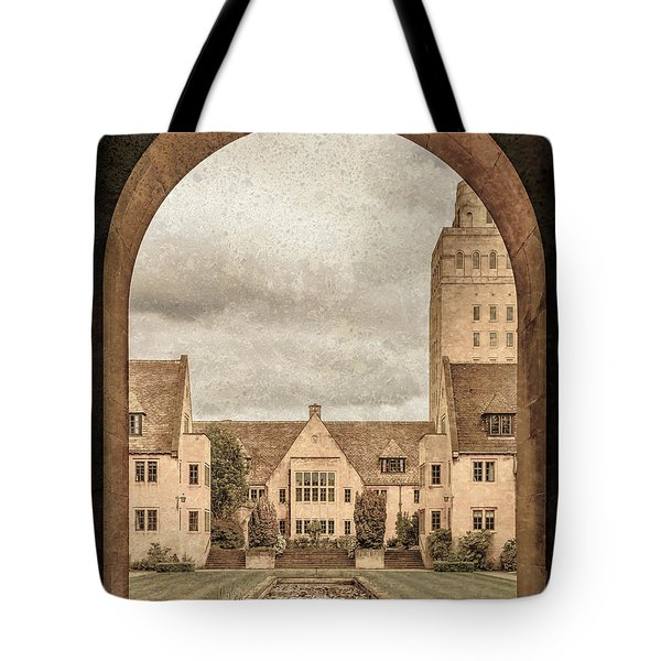 Oxford, England - Nuffield College Tote Bag