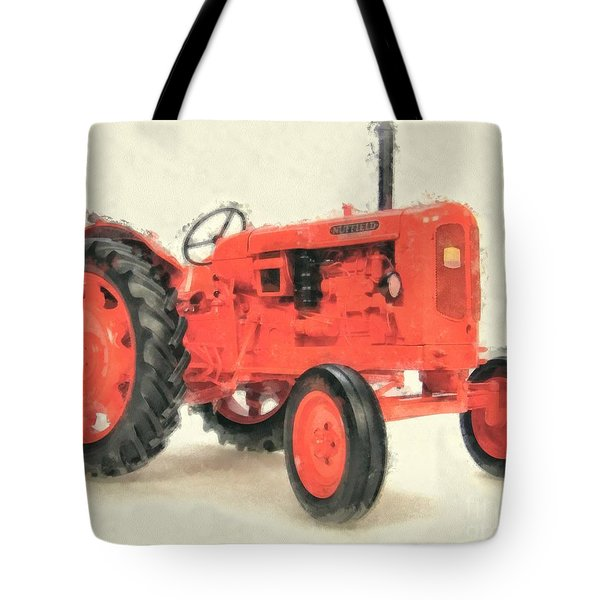 Nuffield Tractor Tote Bag