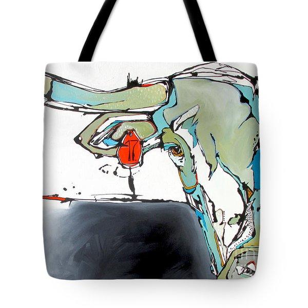 Number 17 Longhorn Steer Tote Bag
