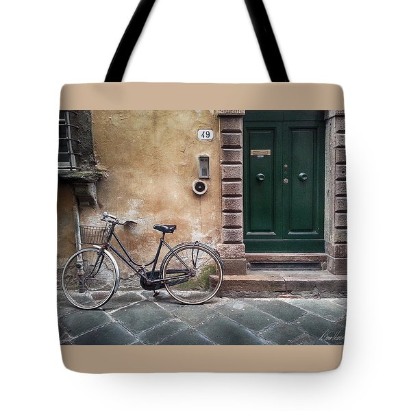 Number 49 Tote Bag