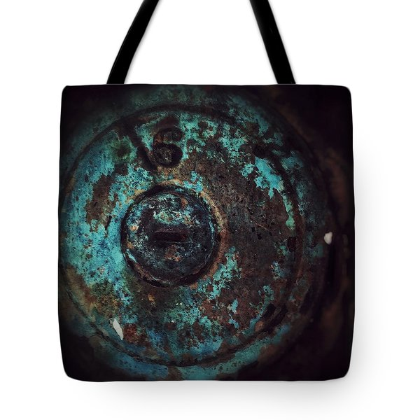 Tote Bag featuring the photograph Number 6 by Olivier Calas