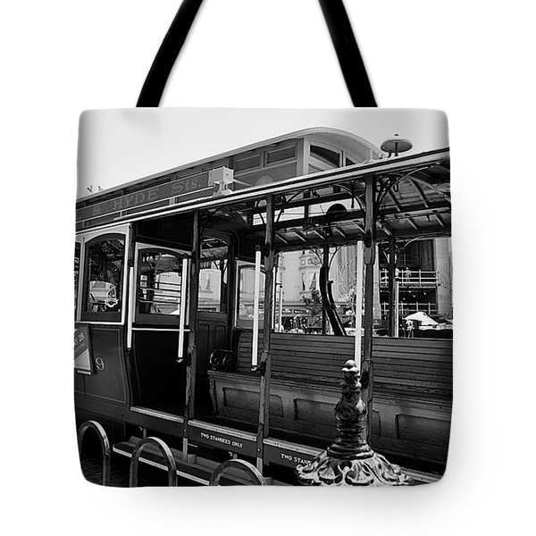 Number 9 Bw Tote Bag