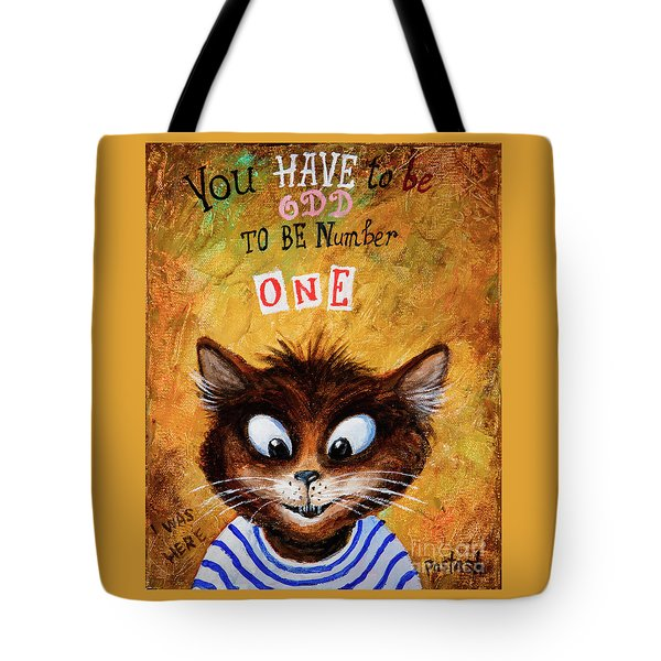Number One Tote Bag by Igor Postash