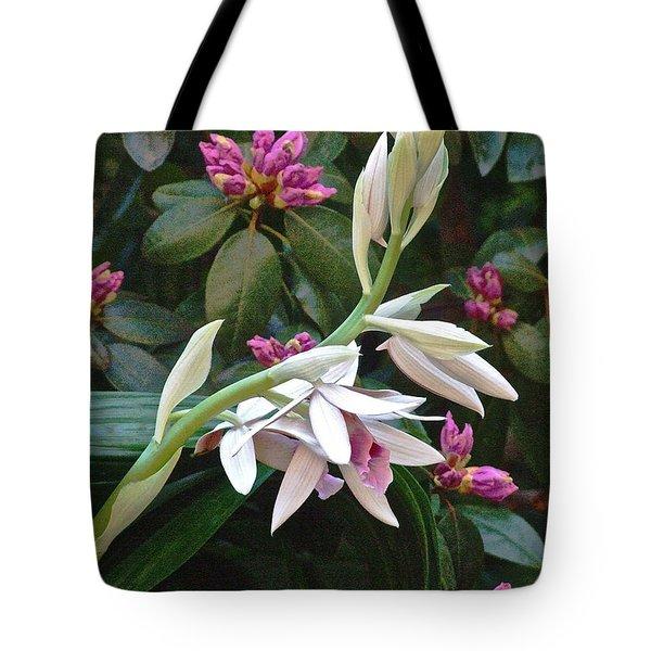 Nun Orchid Tote Bag