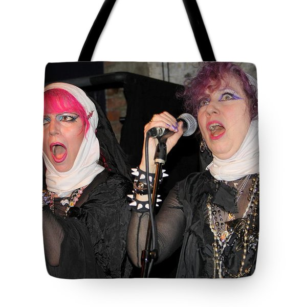 Nuns Of The Rock World Tote Bag