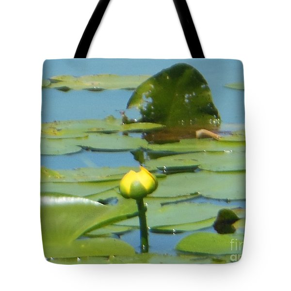Nuphar Lutea Yellow Pond Tote Bag