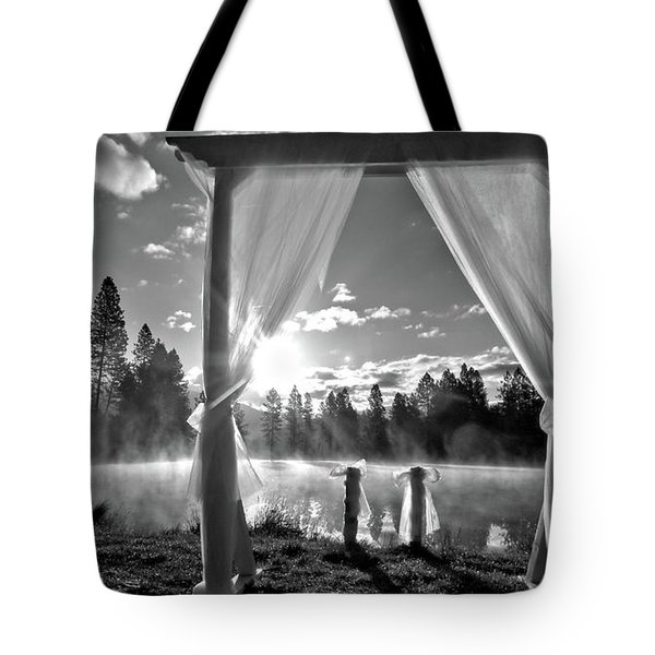 Nuptials Tote Bag by Julia Hassett