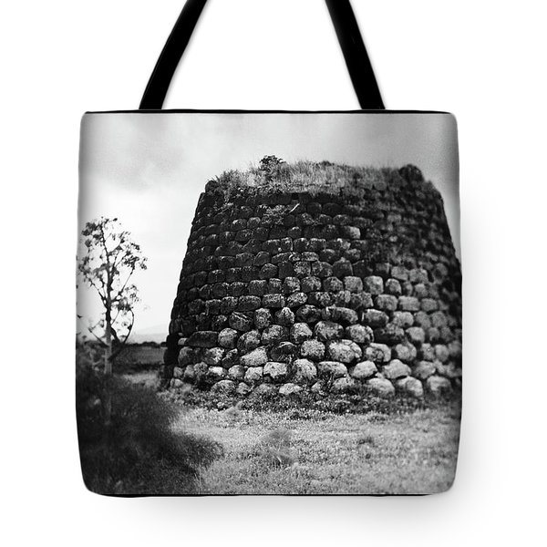 Nuraghe Tower Sardinia Tote Bag