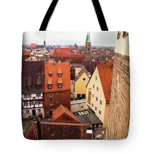 Nuremberg Cityscape Tote Bag