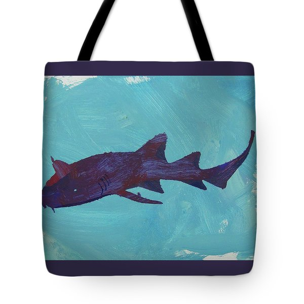 Tote Bag featuring the painting Nurse Shark by Candace Shrope